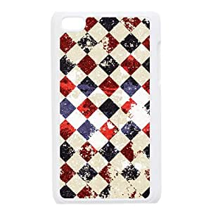 WUCG Unique Design Hard Back Case Cover for iPod Touch 4, Cheap Retro background Phone Case