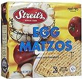 Streit's Egg Matzo Kosher For Passover 12 oz. Pack of 3.