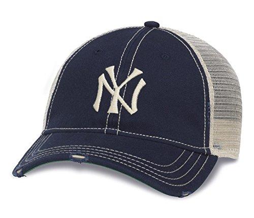 c3e242f0548 American Needle MLB Recreational Heavily Distressed Mesh Back Cap ( Adjustable