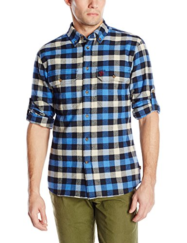 Fjallraven Men's Skog Shirt, UN Blue, Large