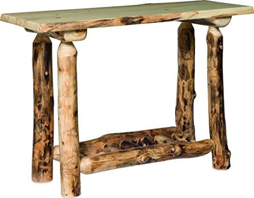 Aspen Log Sofa Table Aspen Log Furniture