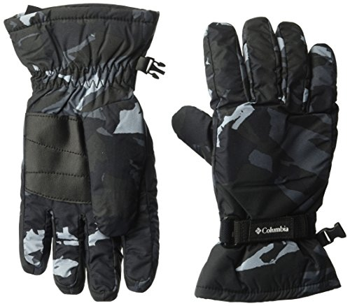 Columbia Kid's Y Core Glove Accessory, black Camo, Large (Nylon Gloves Camouflage)