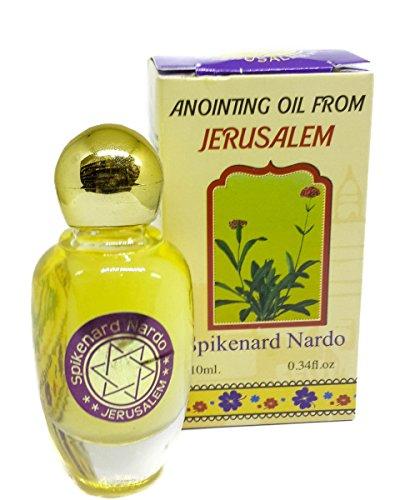 Spikenard Nard Anointing Oil Jerusalem Scent Nardo Holy oil Biblical Spices (Church Oil)