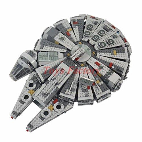 1381 PCS Star Wars Millennium Falcon - Star Wars Spaceship Building blocks Kit Set