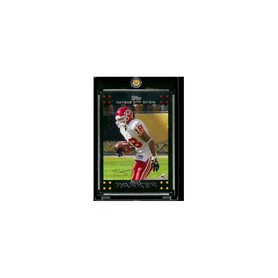 2007 Topps Football # 154 Samie Parker   Kansas City Chiefs   NFL