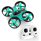 Mini Quadcopter Drone, Furibee F36 Mini Drone 2.4G 4CH 6-Axis Gyro Remote Control RC Drone for Kids & Adults & Beginners- Headless Mode, one Key Return (Cyan)