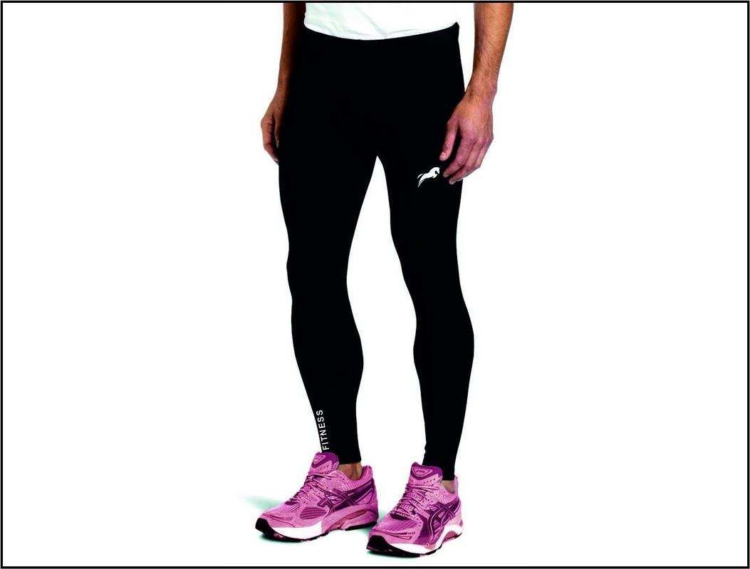 73aa7cb3089bd Buy Rider Full Length Compression Tights Multi Sports Exercise/Gym/Running/ Yoga/Other Outdoor ineer wear for Sports - Skin Tight Fitting - Black Color  ...