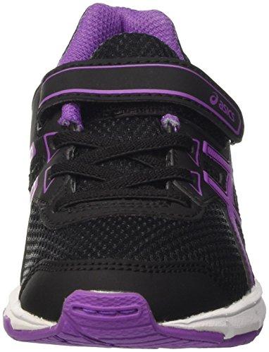 Asics Pre Galaxy 9 Ps, Zapatillas de Entrenamiento Unisex Niños Nero (Black/Orchid/White)