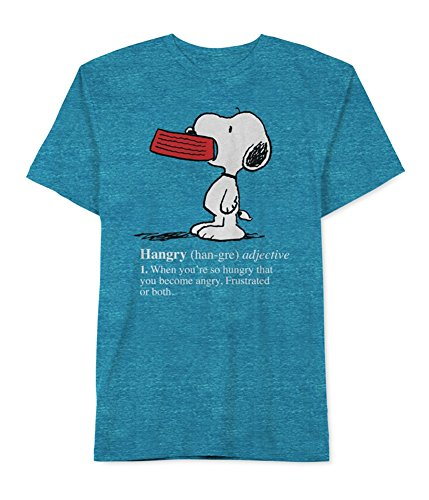 Peanuts Mens Hangry Snoopy Graphic T-Shirt - S to XXL