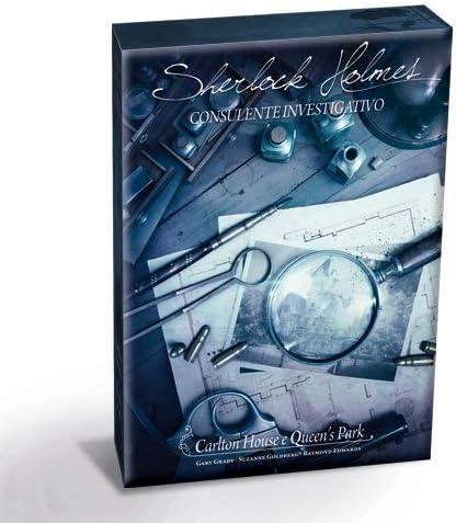 Sherlock Holmes Consulente Investigativo-I Delitti del Tamigi e Altri Casi Gioco da Tavolo Completamente in Italiano Nuova Edizione 8551bis Asmodee Italia