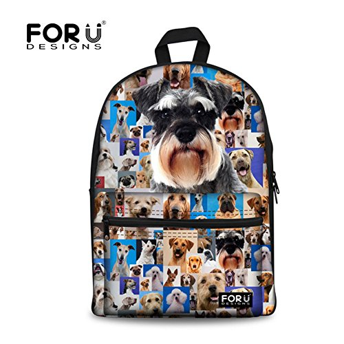 for-u-designs-school-supplies-fashion-pet-pattern-canvas-schoolbag-travel-bags