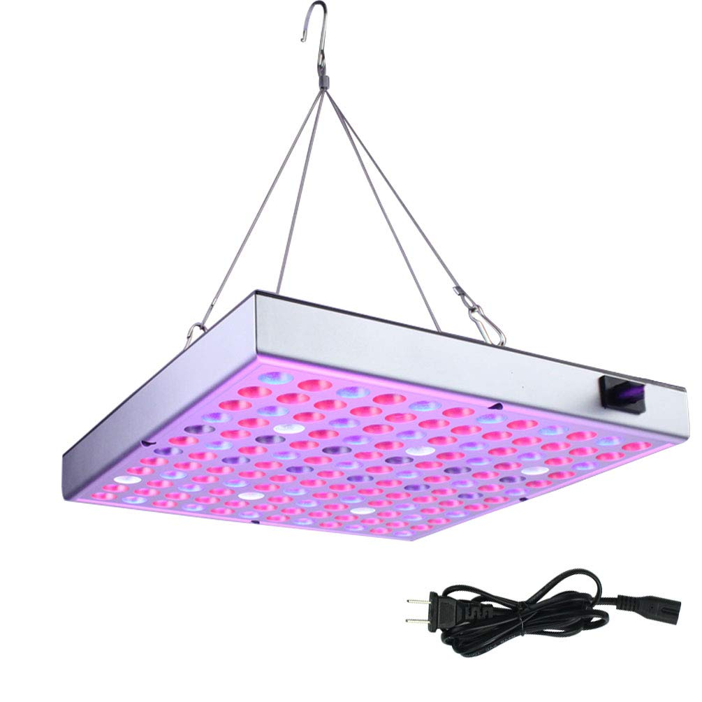 Yolyoo LED Grow Light 45W Full Spectrum Plant Lights UV IR Growing Lamp for Indoor Plants Succulents, Vegetable, Flowers, Seedlings