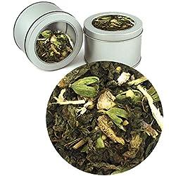 Ayurvedic Better Sleep Tea Indian Pure herbal Organic Ayurvedic Loose Tea Leaves (Buy 1 Get 1)Tea Leaves ( Makes 40 Cups) 2.82 oz By Nargis