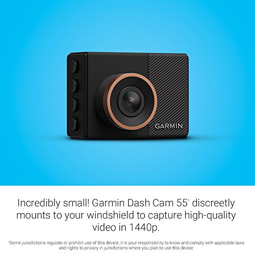 garmin dash cam 55 1440p 2 0 lcd screen extremely small. Black Bedroom Furniture Sets. Home Design Ideas