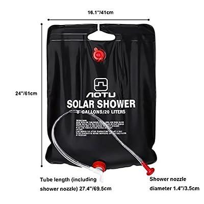 RUNACC-Solar-Dusche-Solar-Heizung-Camping-Dusche-Bag-Outdoor-Dusche-Tasche-fr-Camping-Wandern-und-Klettern-Schwarz-