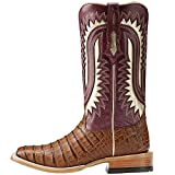 Ariat International Inc. Womens Silverado Caiman Carmel Belly Blush Cowboy Boots