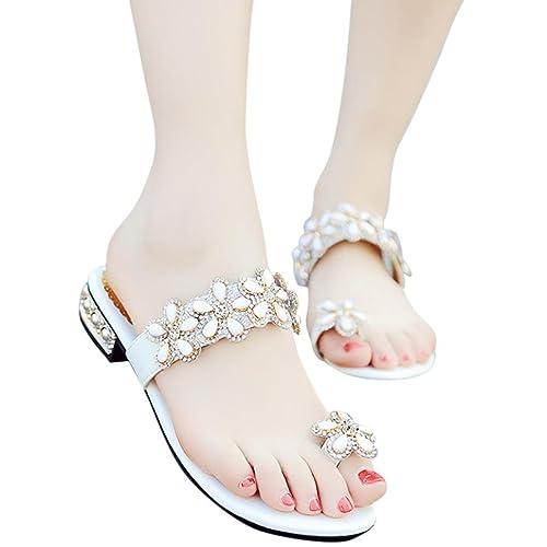 ce956195f Fheaven Women Flat Sandals