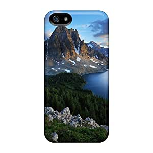 Hot Design Premium VxkYNhb696cdFdP Tpu Case Cover Iphone 5/5s Protection Case(mountains And Lakes)