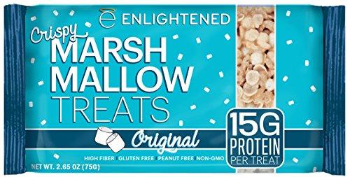 Enlightened Gluten-Free Marshmallow Treat, Original, 10 (Marshmallow Treats)