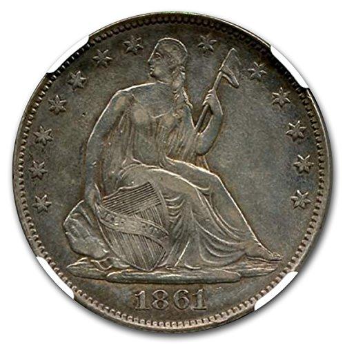 1861 Csa Half Dollar Restrike Ms 65 Ngc B 8001 Half