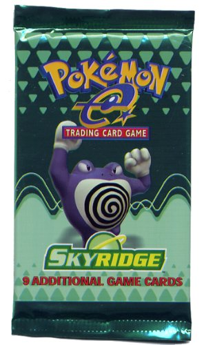 Pokemon-e SkyRidge American Trading Card Game Booster Pack by Wizards of the Coast & Nintendo