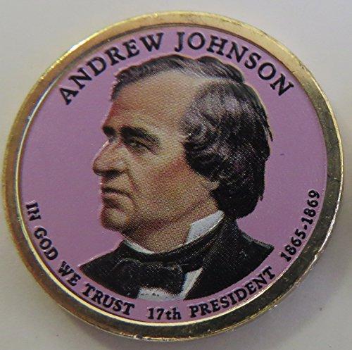 2011 Various Mint Marks Johnson Presidential Colorized Dollar Choice Uncirculated