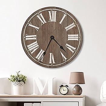 Amazon Com 36 Quot Clockface Wall Stencil Home Amp Kitchen