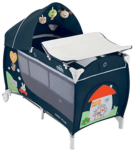 Travel Cot With Changing Mat Daily Plus T222 CASETTA Cam by Cam