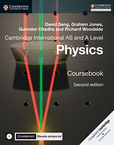 Cambridge International AS And A Level Physics Coursebook With CD ROM And Cambridge Elevate Enhanced Edition  2 Years