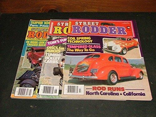 3 Issues Street Rodder Jul,Aug,Summer 1980 Holly Carbs
