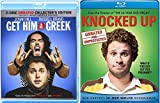 Knocked Up + Get Him to the Greek 2 Disc Unrated Collector's Edition Comedy Feature Blu Ray Fun Double Feature movie Set Combo Edition