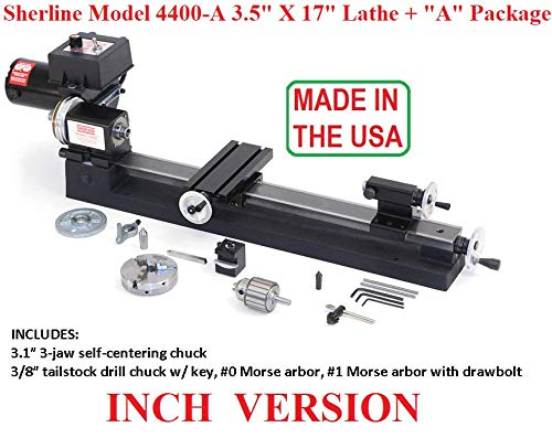 Sherline 4400A INCH Version 17