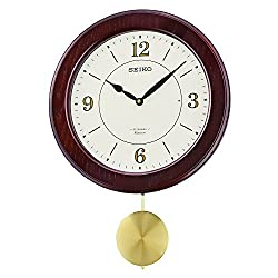 Seiko QXM345BLH Wall Japanese Quartz Wall Clock