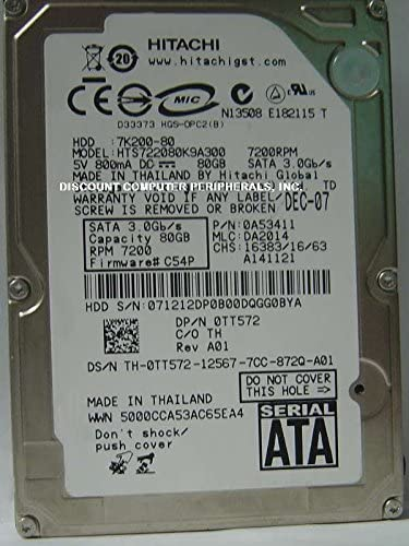 Hitachi 0A53411 80GB Hard Drive