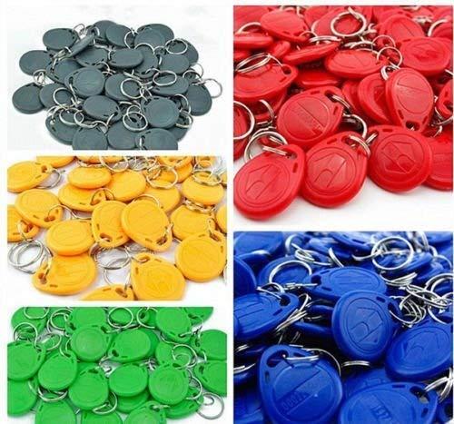 100pcs RFID key EM 4100/4102 chip Keychains 125Khz Proximity ID Tags /Keyfobs KingGo Electronics