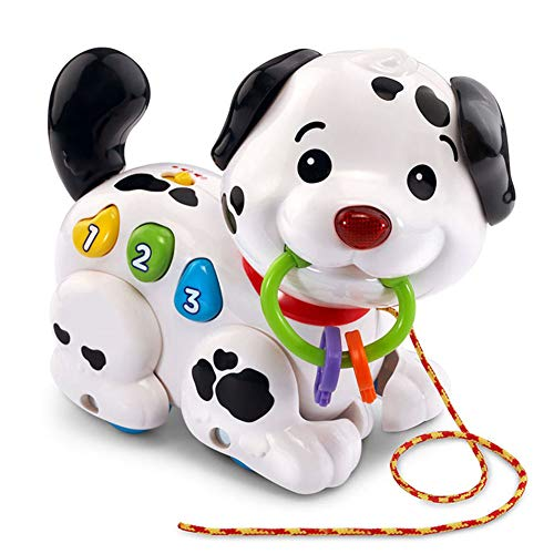 RollingBronze Electronic Toys Walking Pull Sing Puppy Dog Pets for Kids Child Baby Gift