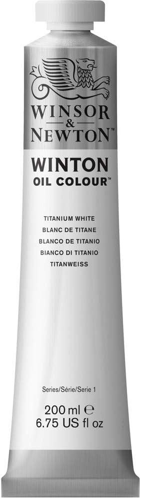 Winsor & Newton Winton - Tubo De Pintura Al Óleo, 200 ml, Blanco De Titanio
