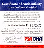Walter Payton Autographed 3x5 Index Card Chicago Bears Stock #64590 - PSA/DNA Certified - NFL Cut Signatures