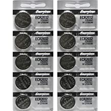 Energizer CR2032 3 Volt Lithium Coin Battery 10 Pack