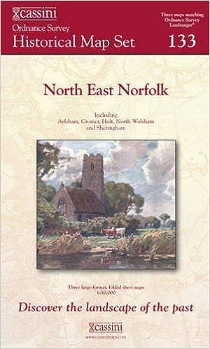 Norfolk California Map.North East Norfolk 1838 1922 Cassini Historical Map Set Amazon
