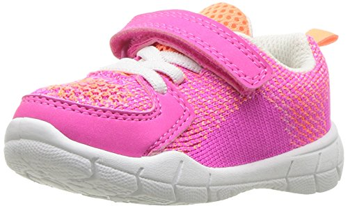 carter's Girls' Avion-G Athletic Sneaker, Pink, 5 M US Toddler