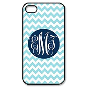 Custom Monogram Hard Back Cover Case for iPhone 4 4S CY536