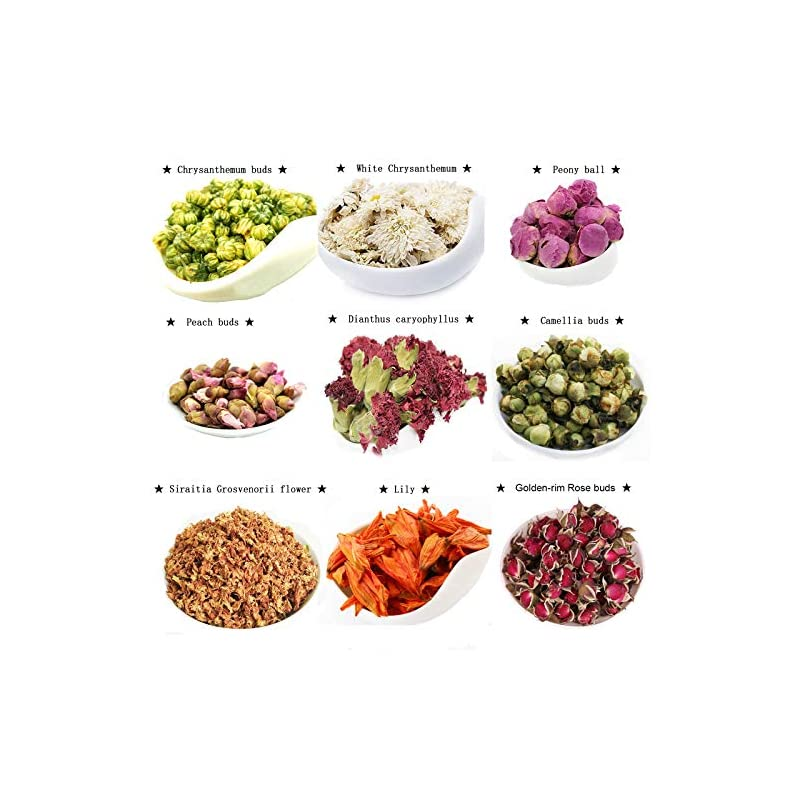 silk flower arrangements tooget dry flowers and herbs accessories decorations natural 9 bags set dried flowers for soap bath bombs making and dried flower crafts
