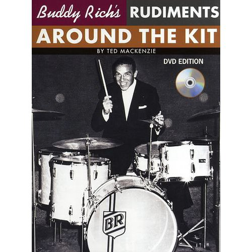 - Hal Leonard Buddy Rich's Rudiments: Around The Kit (Book/DVD)