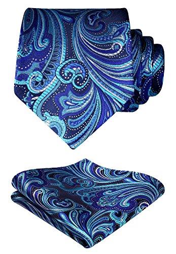 blue and purple mens ties - 1