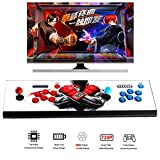 Easyget LED 2 Player Arcade Game Console with Pandoras Box 5 960 Games Video Game Machine Support 720P HDMI & VGA Output Support TV Set / LCD Monitor / Projector / Plug & Play Red + Blue Color