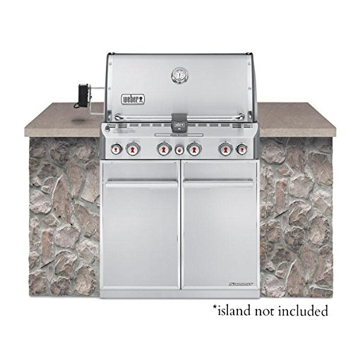 Weber Summit S-460 Built-In Natural Gas in Stainless Steel Grill Weber Gas Bbq Grill