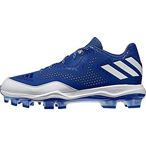 adidas Performance Damen PowerAlley 4 W TPU Softball Schuh Königlich-weiß