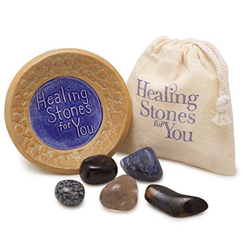 Scorpio Zodiac Stone Set with Ceramic Dish & Pouch