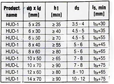 Taco Hilti taco universal HUD-1 12 x 60 mm 100 piezas